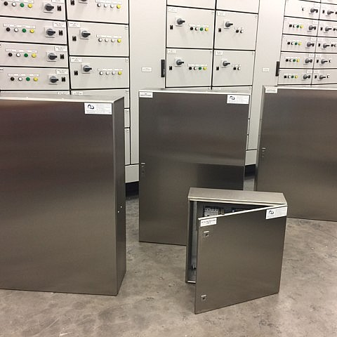 Stainless Steel Remote IO Panels