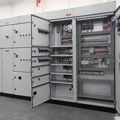 Form 4 Panel with Automatic Generator Changeover for the water services industry.