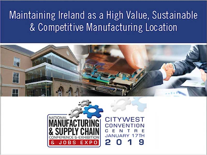 National Manufacturing & Supply Chain Conference & Exhibition 2019