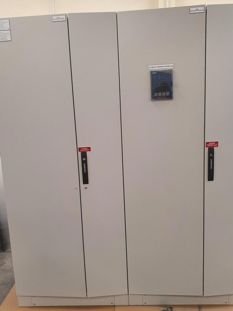 Alpha Drives Auto Gen Switch Over Panel with Siemens ATC3100 Controller