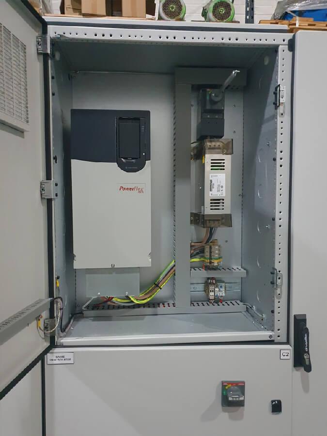 Alpha Drives Ltd MCC 400 Amp 50KA for Manufacturing line