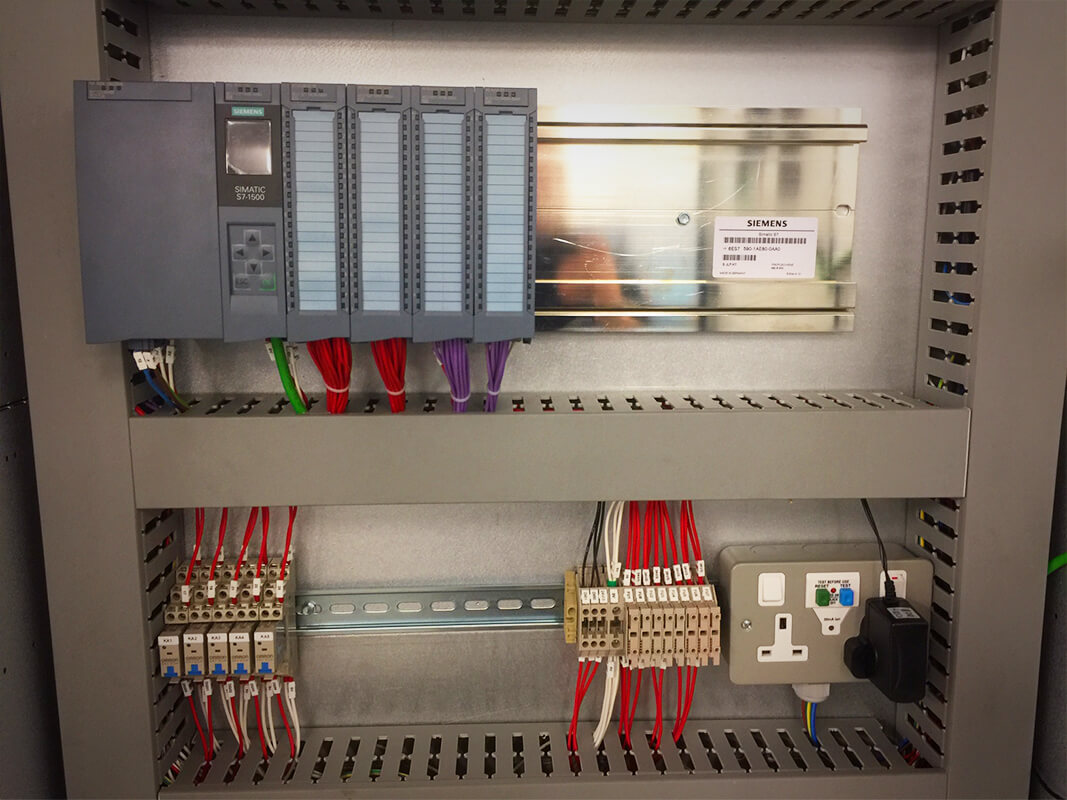 Alpha Drives Ltd   Siemens Control panel with Power Distribution to control