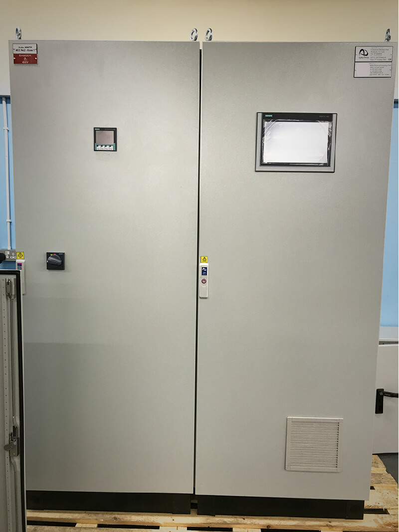 Alpha Drives Ltd | Siemens Control panel with Power Distribution to control