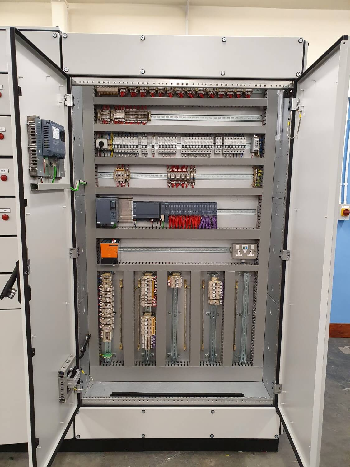 Alpha Drives Siemens Control Panels For Pumping Stations 2