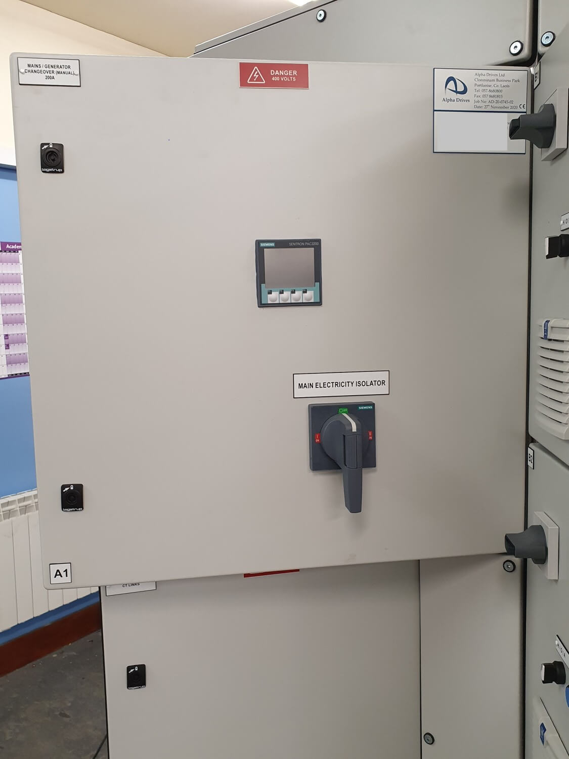 Alpha Drives Siemens Control Panels For Pumping Stations 5