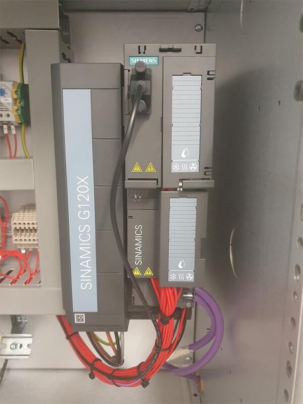 Alpha Drives WWTP MCC Panels
