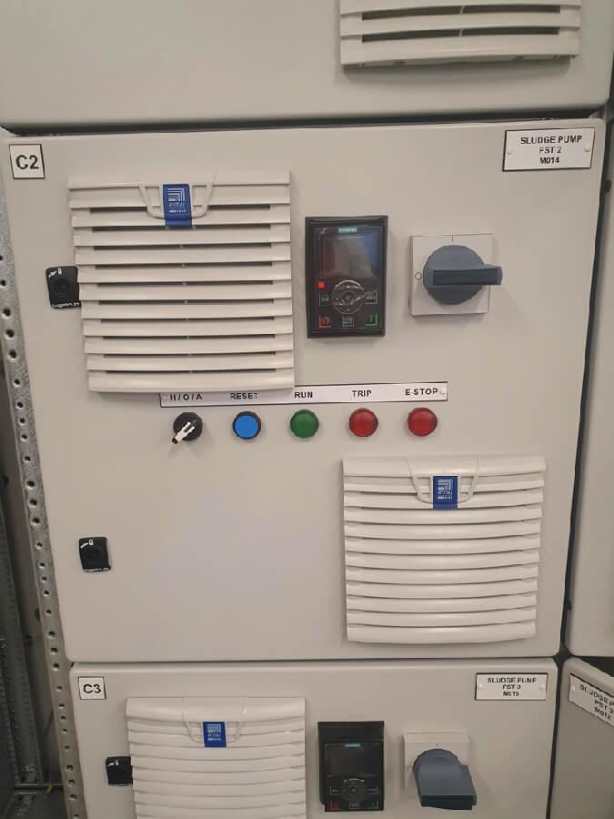 Alpha Drives Waste Water Treatment Plant Main MCC