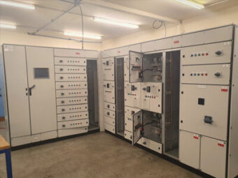 Alpha Drives Ltd | Waste Water Treatment Plant Main MCC