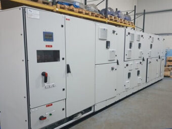 Alpha Drives MCC 400 Amp 50KA for Manufacturing line